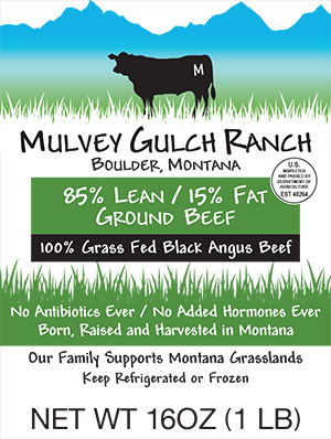 Certified Grass-Fed, Pasture-Raised Ground Beef   Mulvey